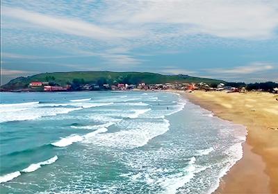 Praia da Galheta Norte - Farol de Santa Marta
