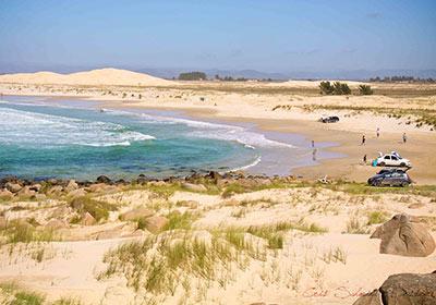 Praia da Cigana - Farol de Santa Marta