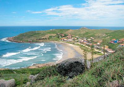 Praia da Teresa - Farol de Santa Marta