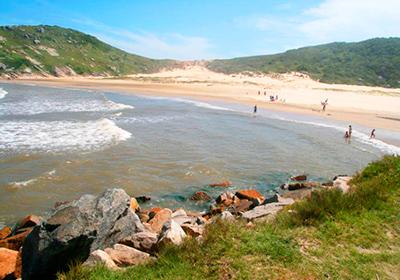 Praia do Tamborete - Laguna-SC